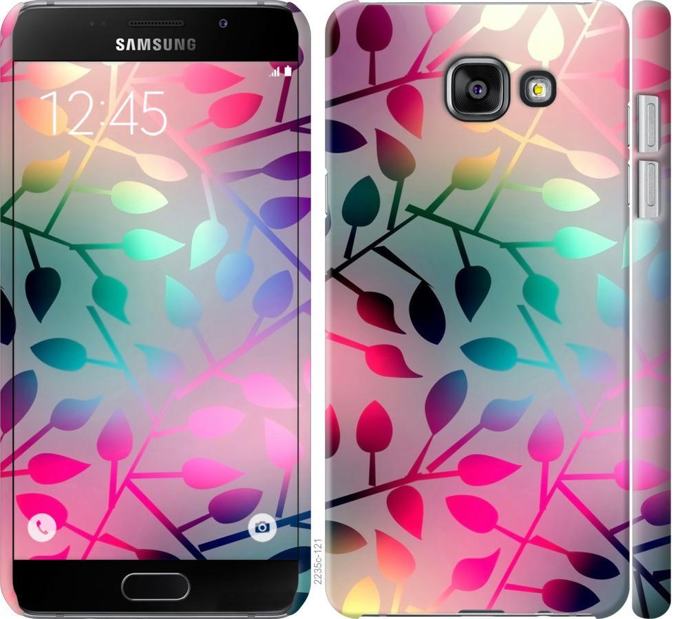 Чехол на Samsung Galaxy A7 (2016) A710F Листья