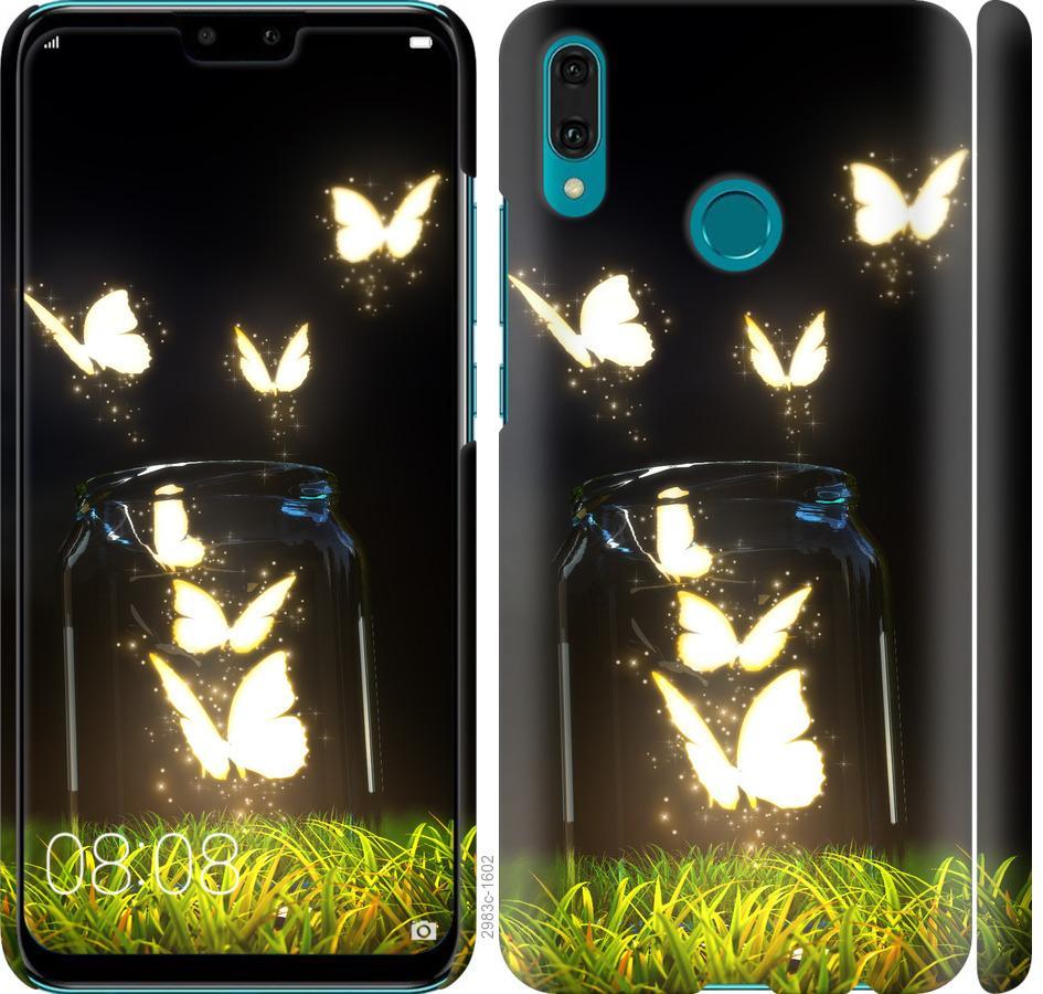 Чехол на Huawei Y9 2019 Бабочки