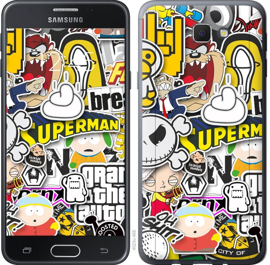 Чохол на Samsung Galaxy J5 Prime Popular logos