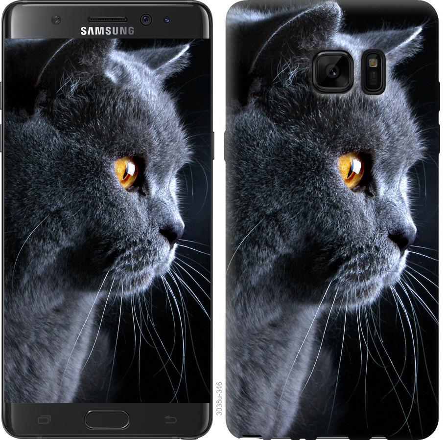 Чохол на Samsung Galaxy Note 7 Duos N930F Гарний кіт