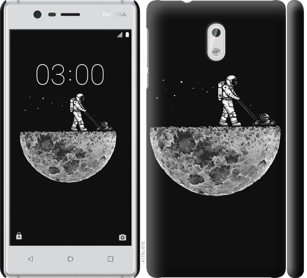 Чехол на Nokia 3 Moon in dark
