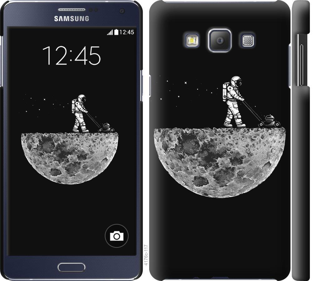Чехол на Samsung Galaxy A7 A700H Moon in dark
