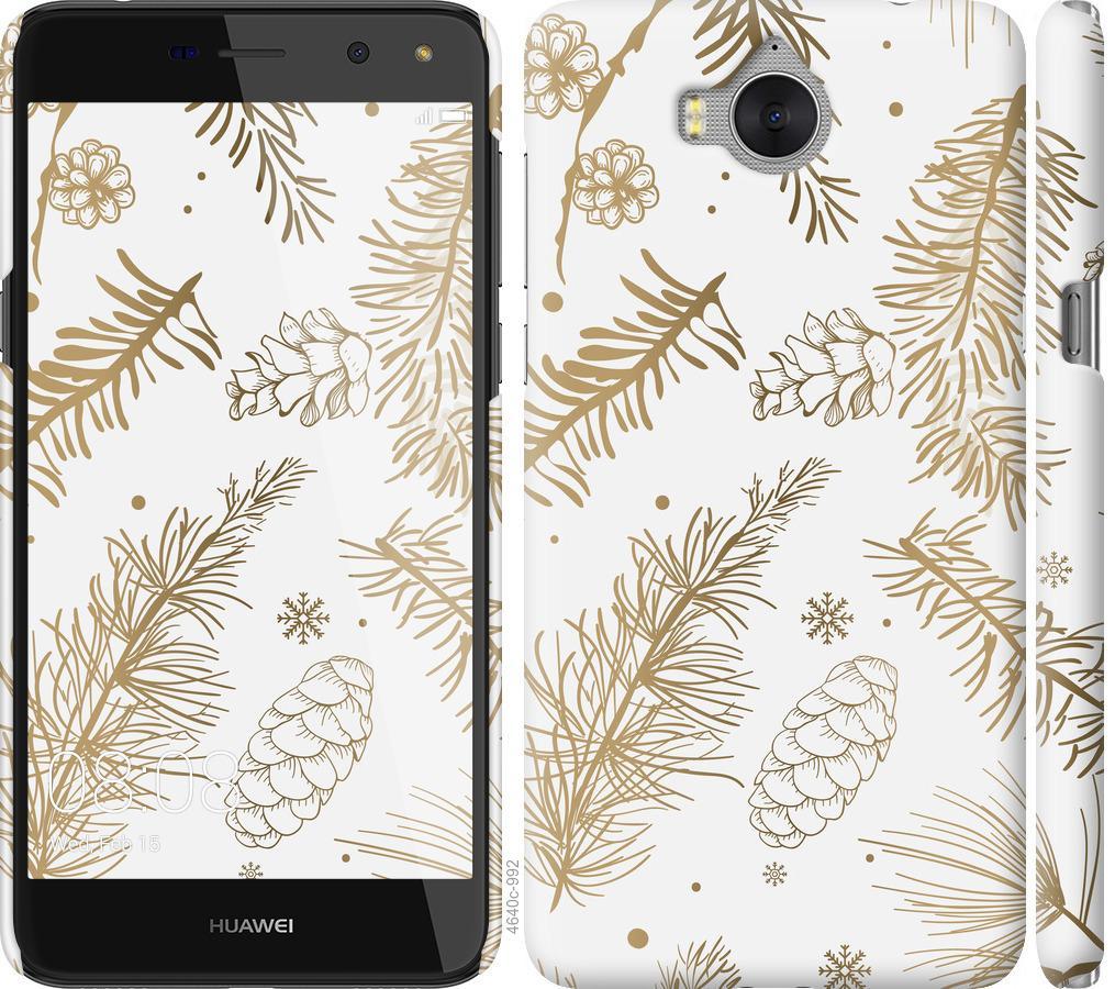 Чехол на Huawei Y5 2017 Зимний