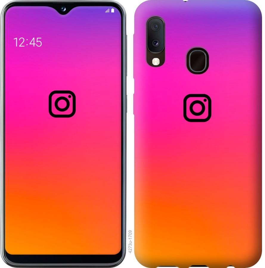 Чехол на Samsung Galaxy A20e A202F Instagram