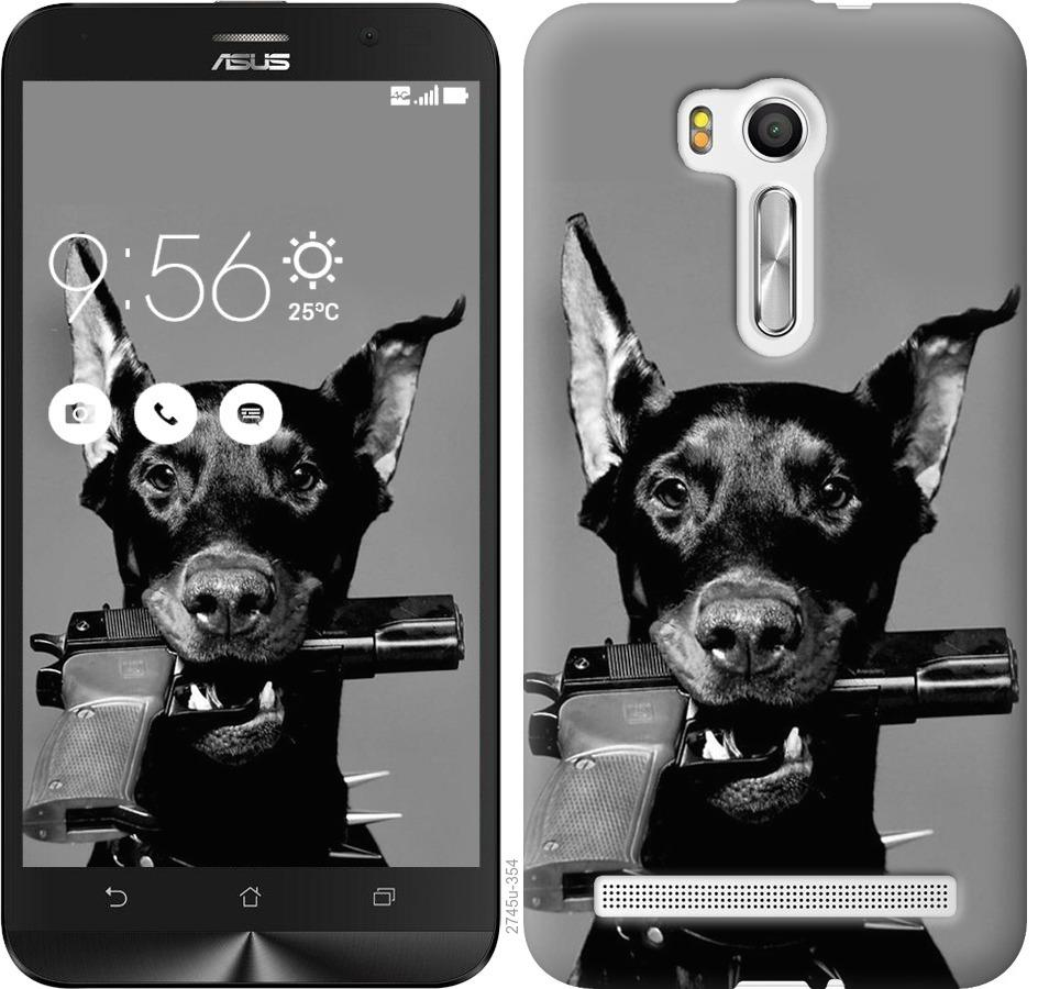 Чехол на Asus ZenFone Go TV ZB551KL Доберман