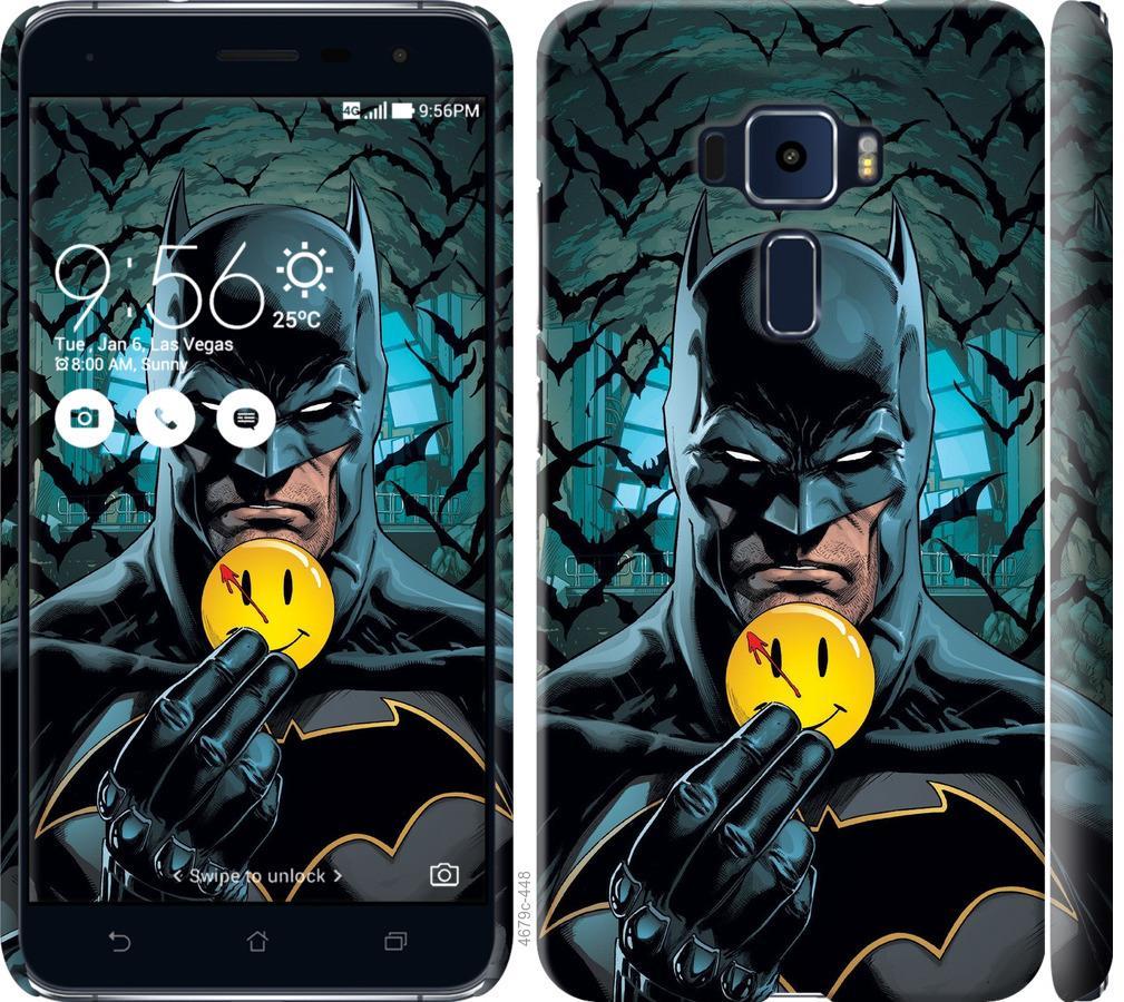 Чехол на Asus Zenfone 3 ZE552KL Бэтмен 2