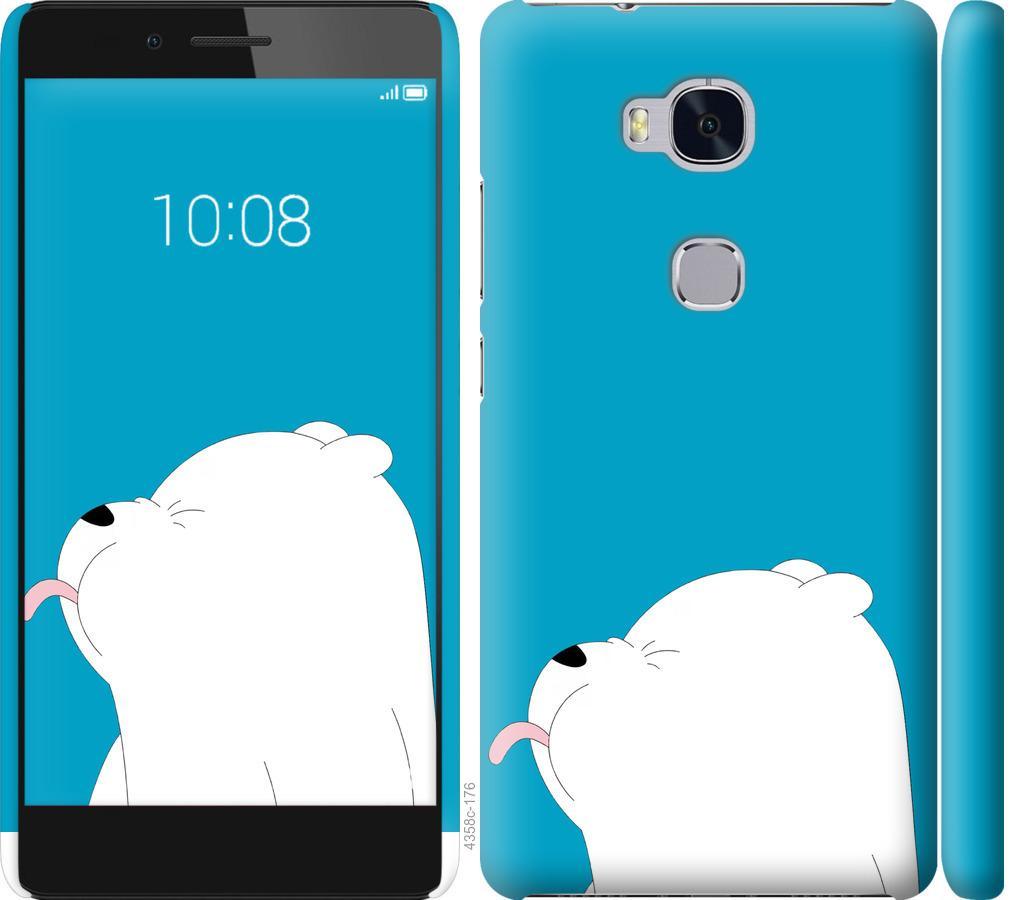 Чехол на Huawei Honor 5X Мишка 1