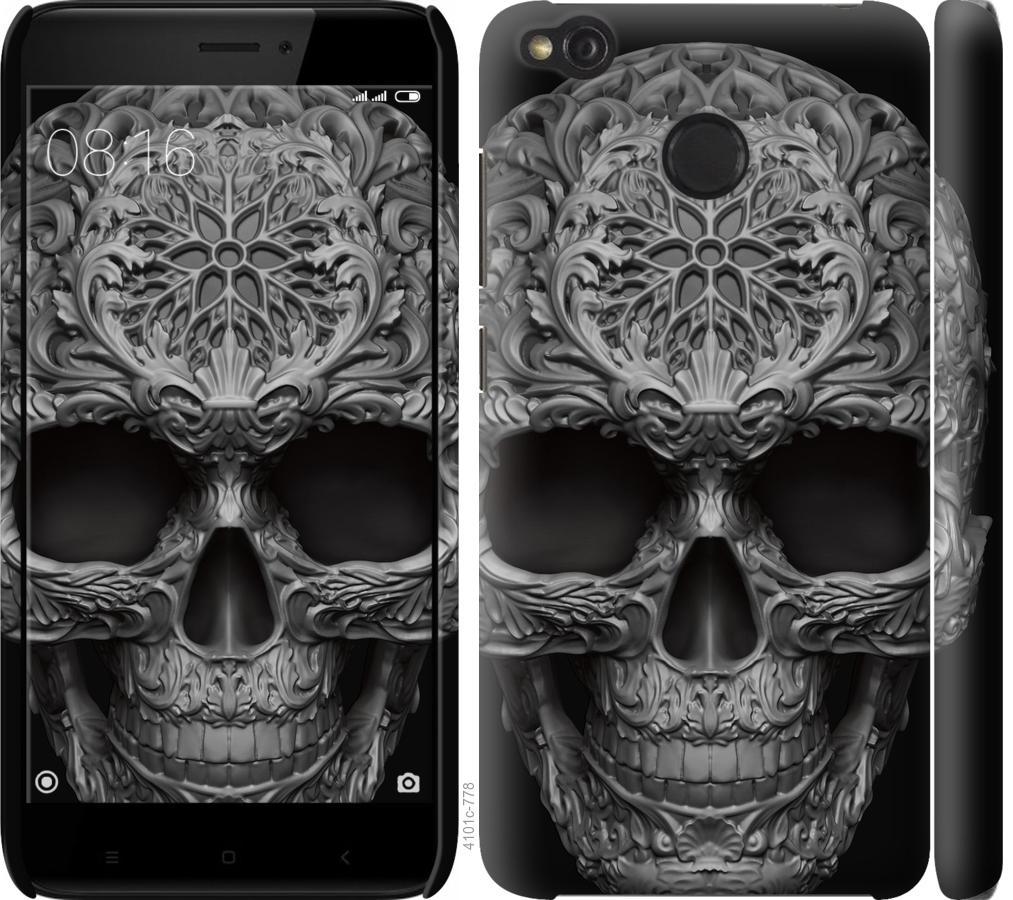 Чехол на Xiaomi Redmi 4X skull-ornament