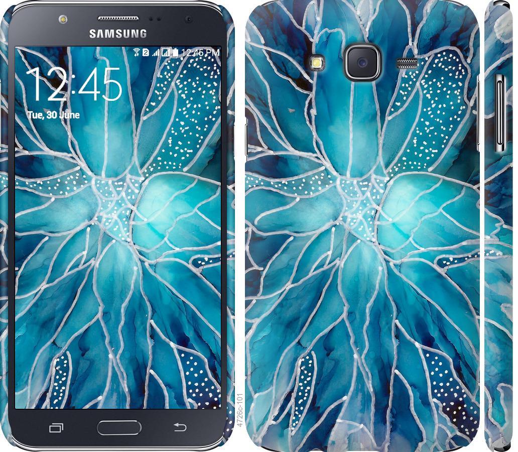 Чехол на Samsung Galaxy J7 J700H чернило