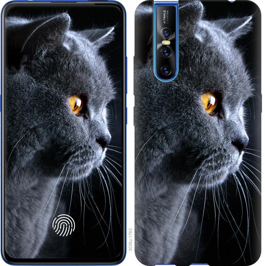 Чехол на Vivo V15 pro Красивый кот