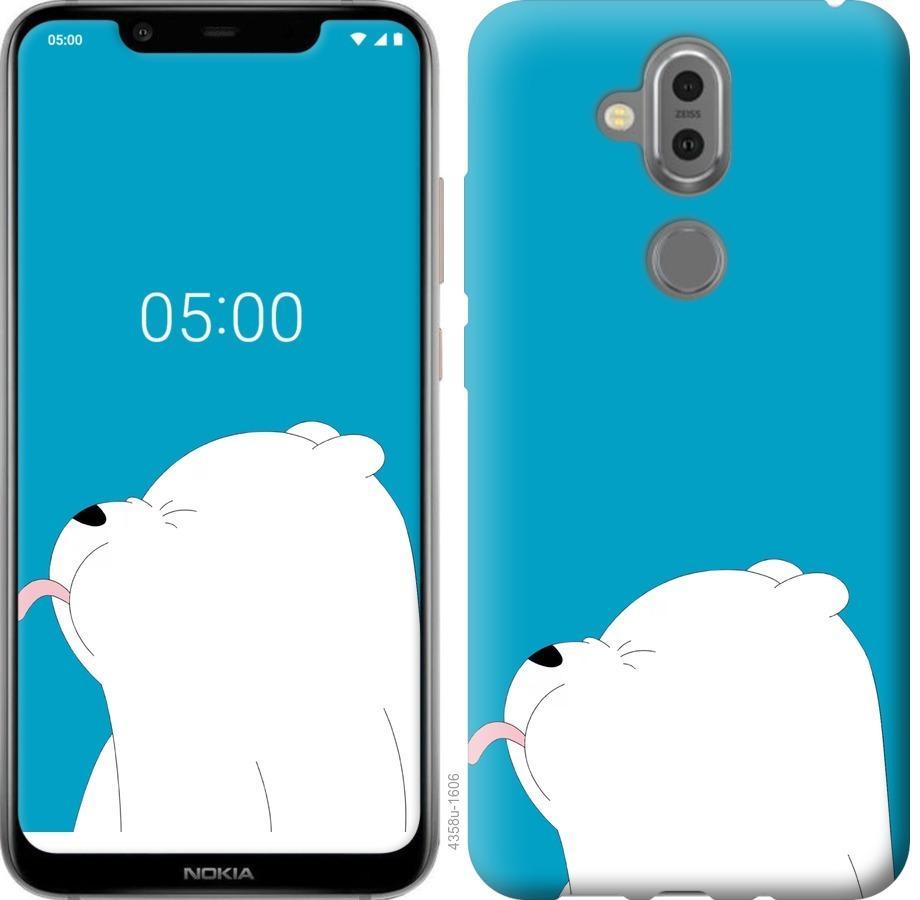 Чехол на Nokia 8.1 Мишка 1