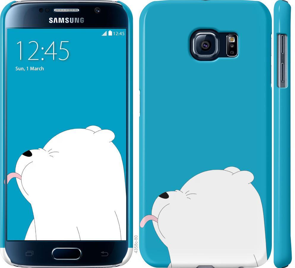 Чехол на Samsung Galaxy S6 G920 Мишка 1
