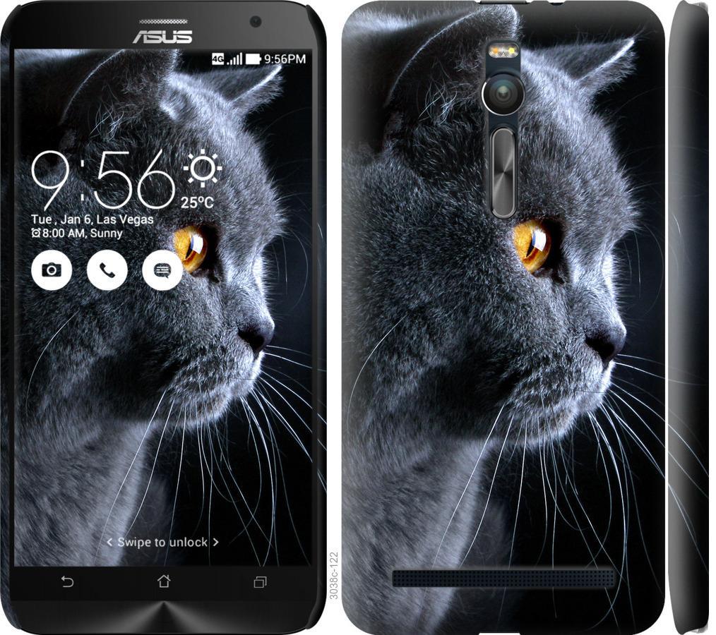Чехол на Asus Zenfone 2 ZE551ML Красивый кот