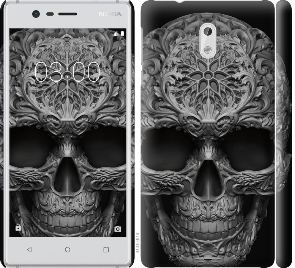 Чехол на Nokia 3 skull-ornament