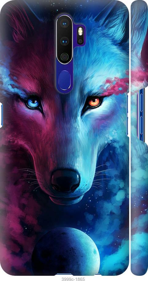 Чехол на Oppo A5 2020 Арт-волк