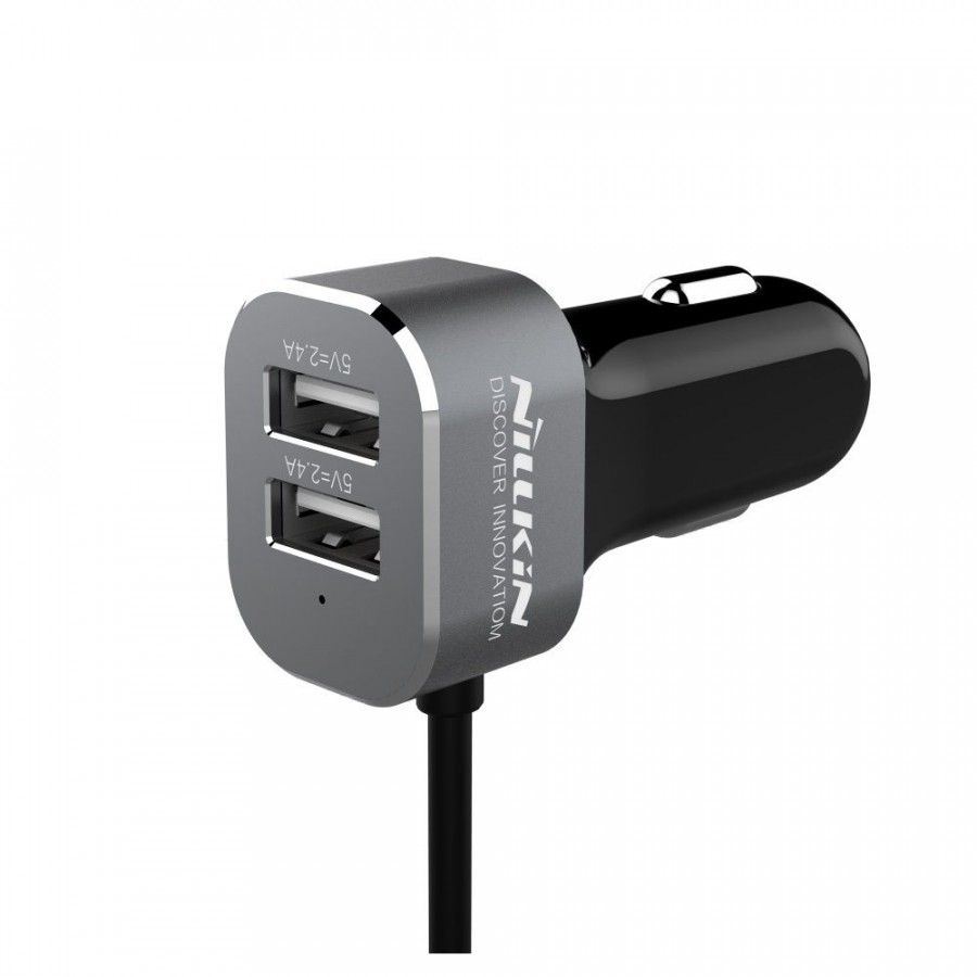 Фото АЗУ Nillkin PowerShare Car Charger (1 цвет) в магазине itsell.ua