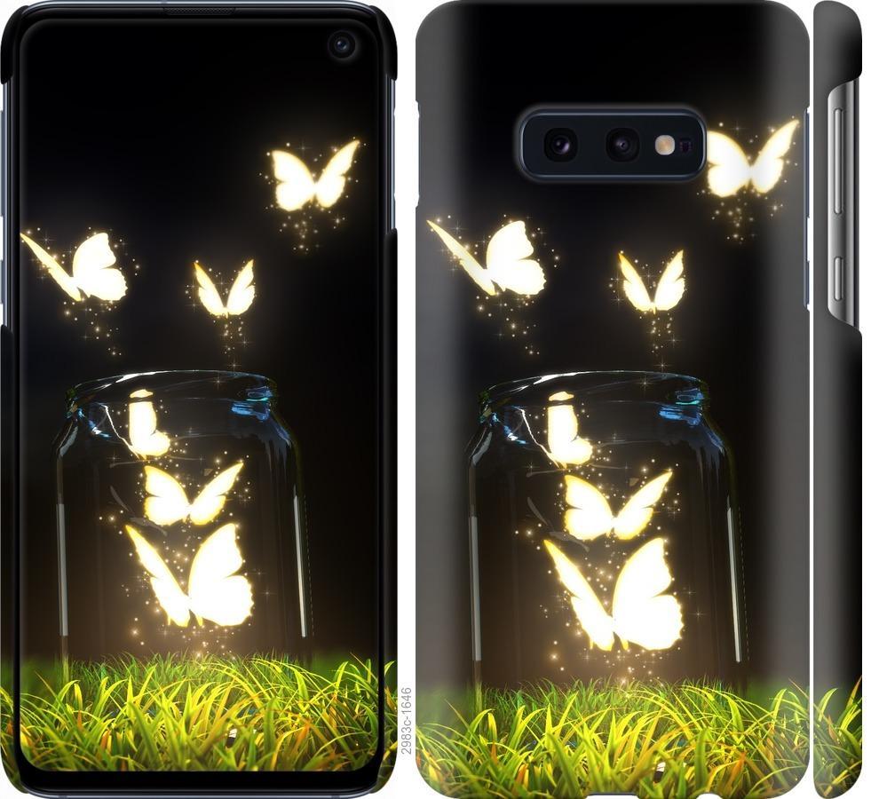 Чехол на Samsung Galaxy S10e Бабочки