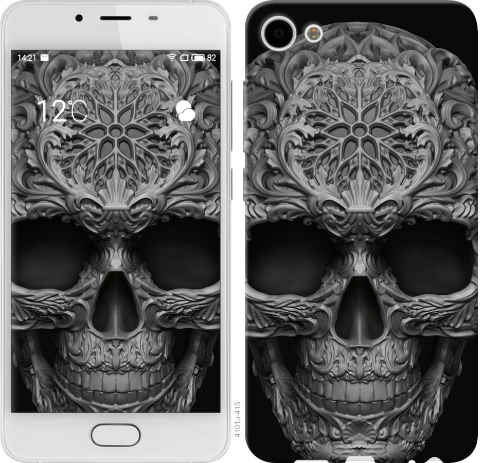 Чохол на Meizu U10 skull-ornament