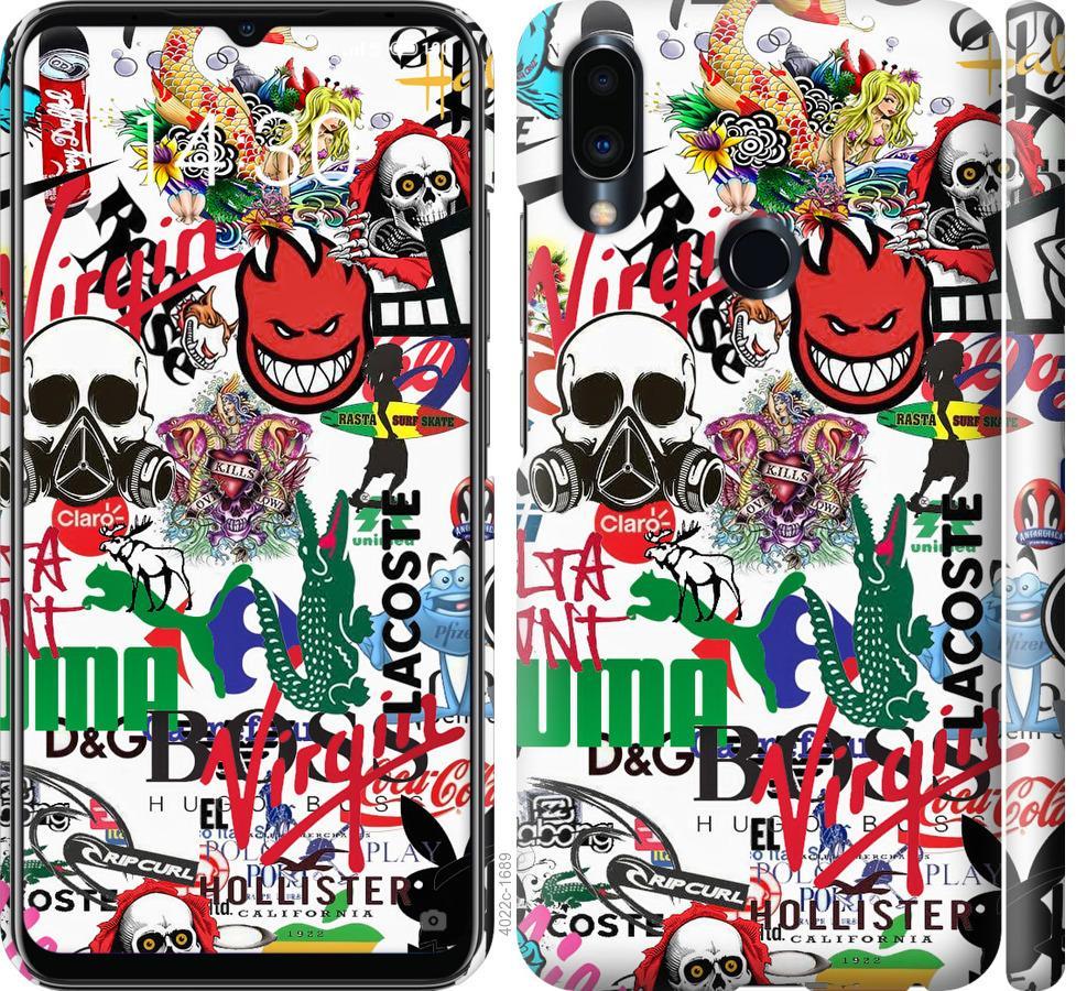 Чохол на Meizu Note 9 Many different logos