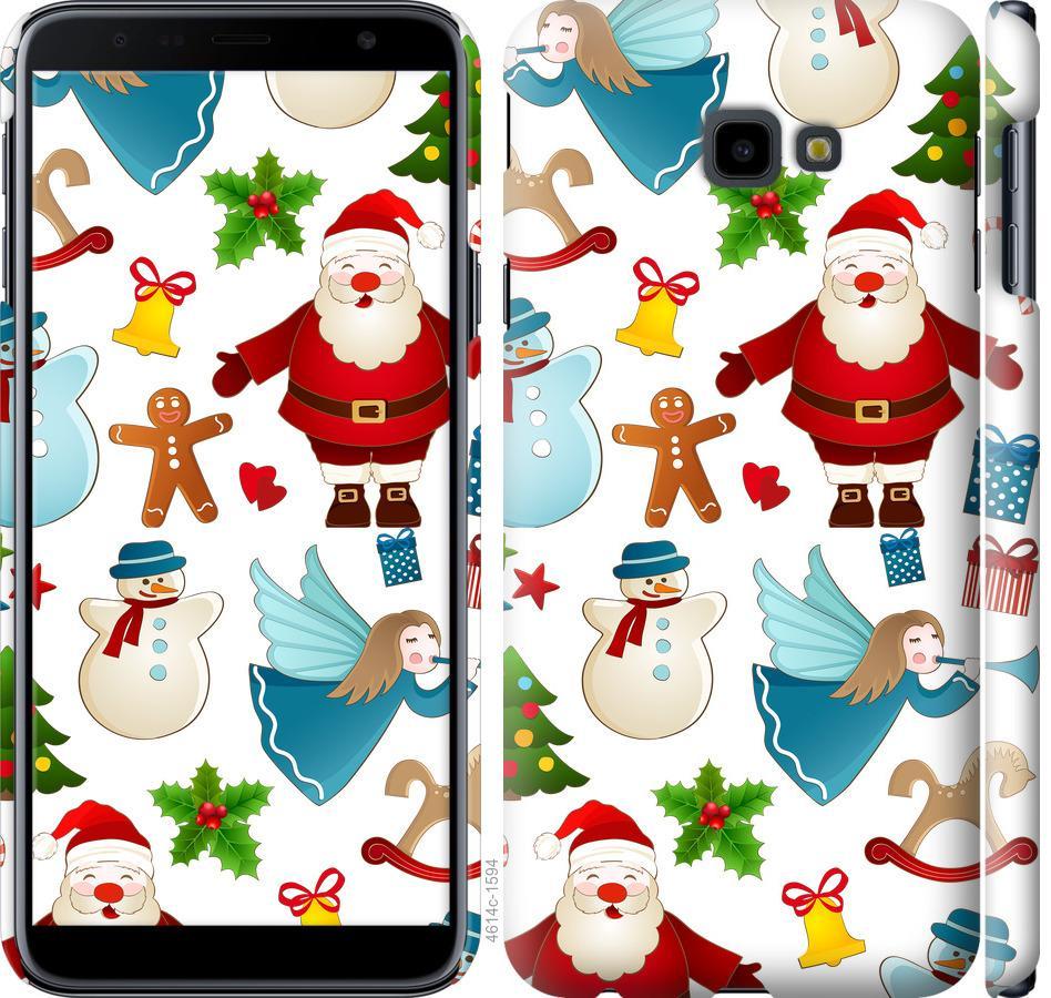 Чехол на Samsung Galaxy J4 Plus 2018 Новогодний 1