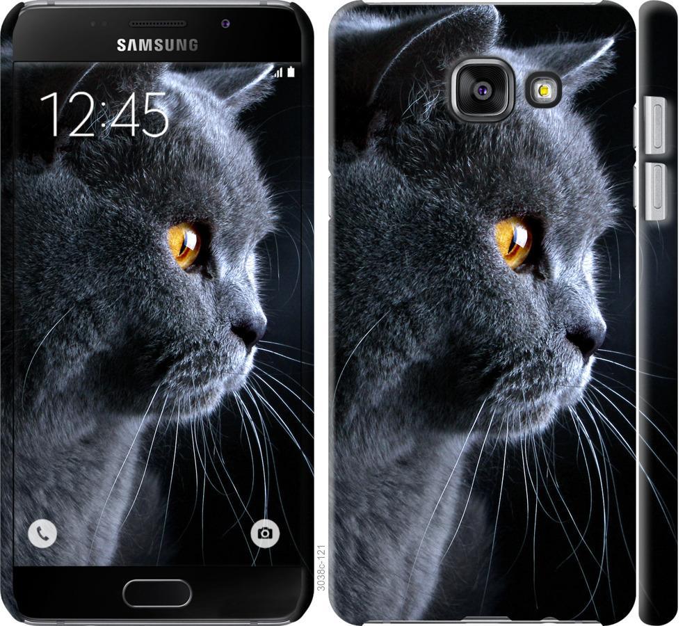Чехол на Samsung Galaxy A7 (2016) A710F Красивый кот