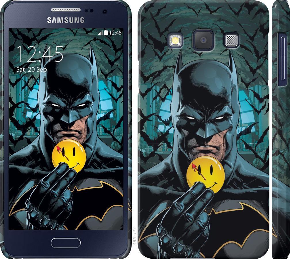 Чехол на Samsung Galaxy A3 A300H Бэтмен 2