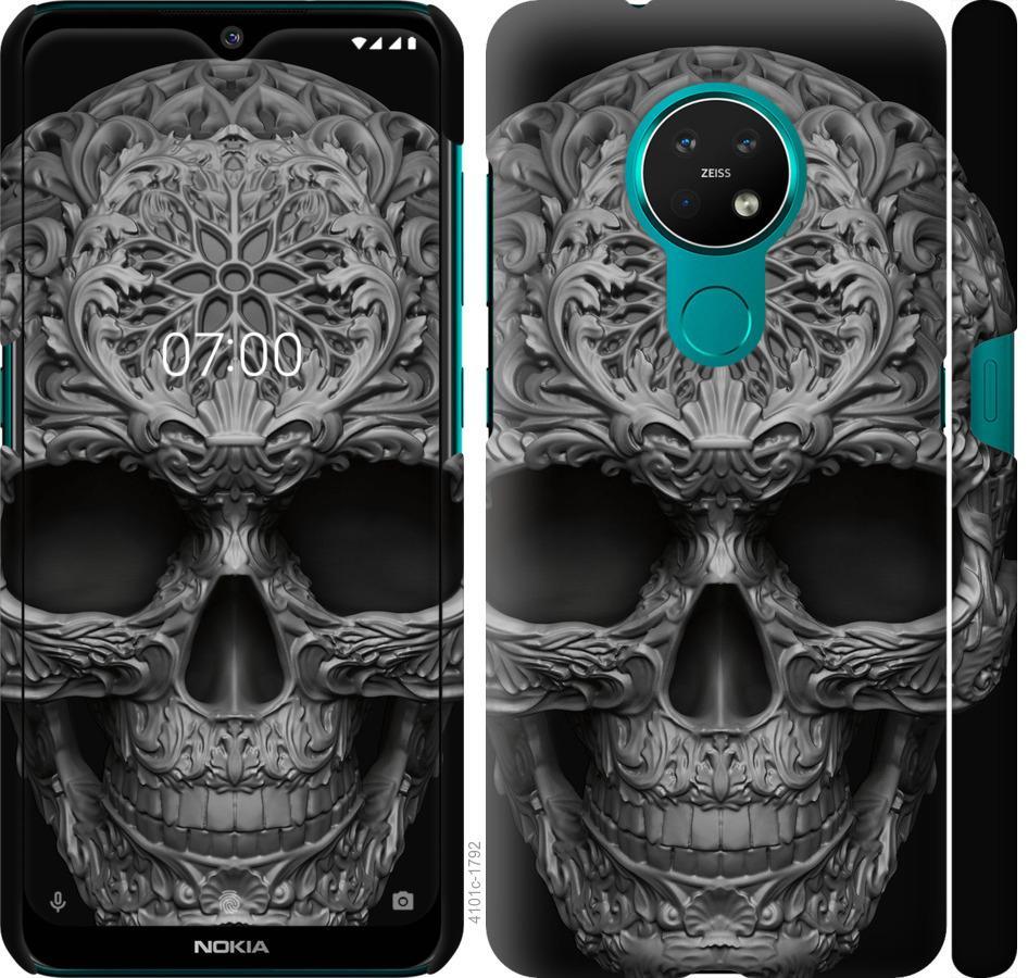 Чехол на Nokia 7.2 skull-ornament