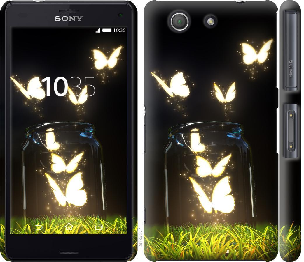 Чехол на Sony Xperia Z3 Compact D5803 Бабочки