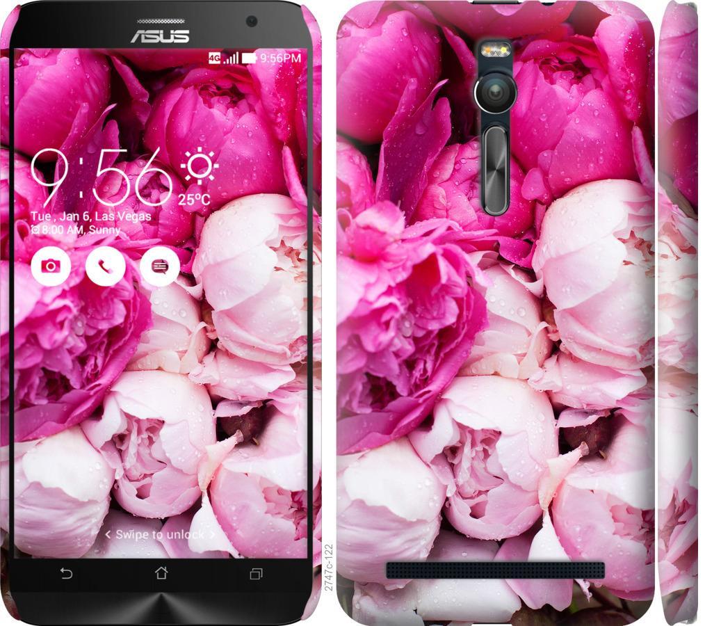 Чехол на Asus Zenfone 2 ZE551ML Розовые пионы