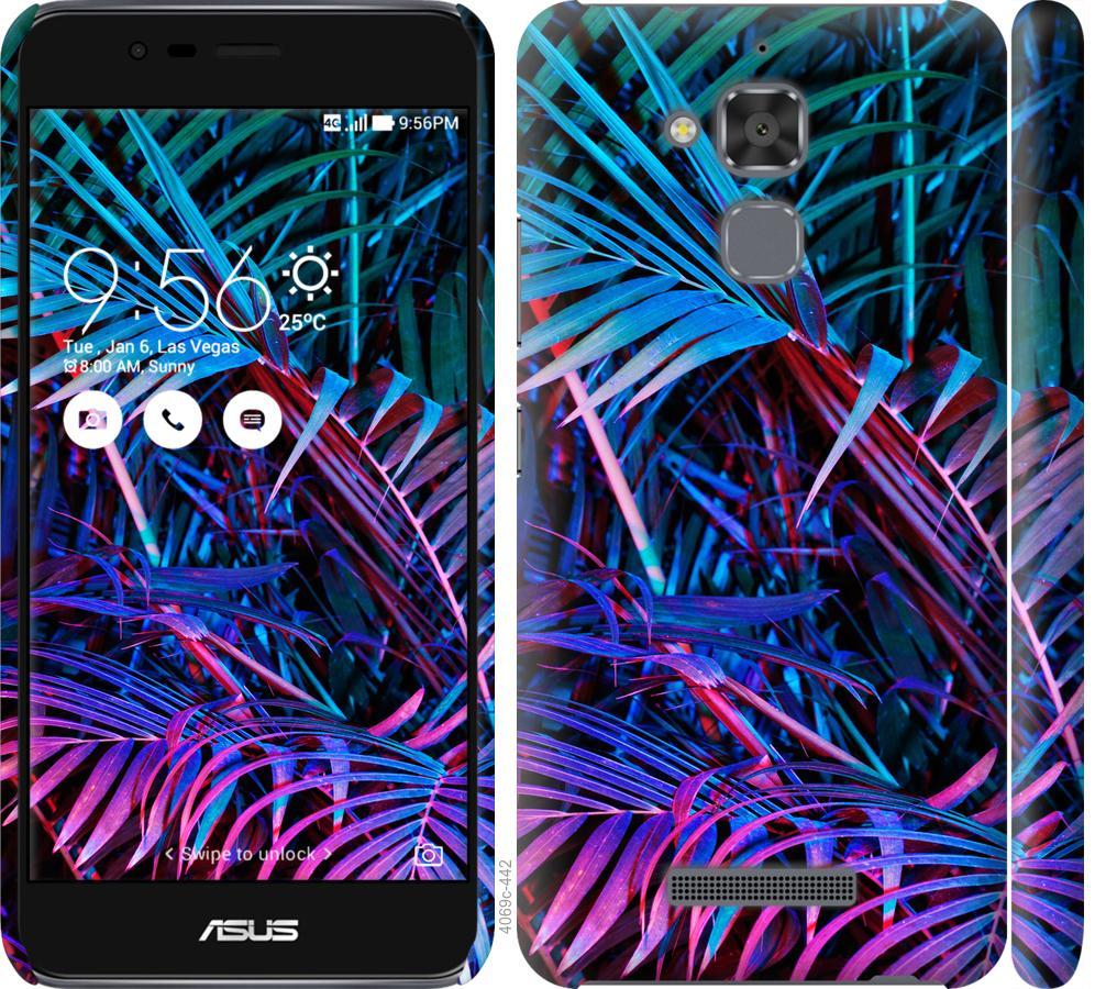 Чохол на Asus Zenfone 3 Max ZC520TL Папороть під ультрафіолетом