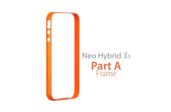 Купить Бампер SGP Neo Hybrid 2S Mix &Match Part A [Frame Only] для iPhone 4/4s за 159 грн