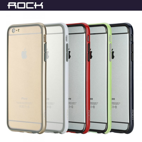 Купить Бампер ROCK Duplex Slim Guard для Apple iPhone 6/6s plus (5.5') (3 цвета) за 259 грн