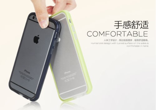 Фото Бампер ROCK Duplex Slim Guard для Apple iPhone 6/6s plus (5.5