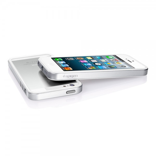 Заказать Бампер SGP Neo Hybrid EX Slim Metal Series для Apple iPhone 5/5S/SE (+ пленка) (4 цвета) на itsell.ua