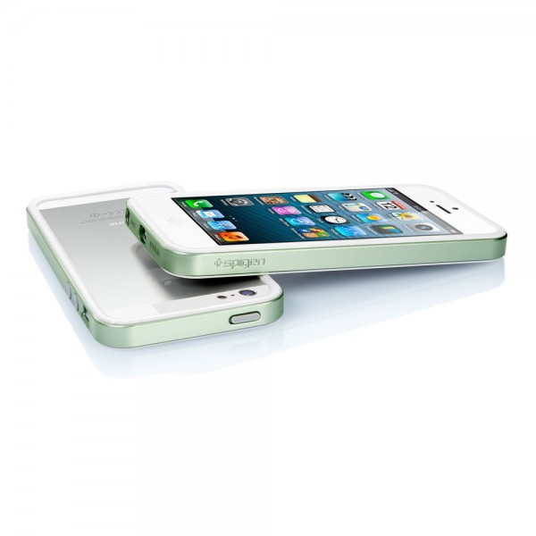 Фото Бампер SGP Neo Hybrid EX Slim Metal Series для Apple iPhone 5/5S/SE (+ пленка) (4 цвета) в магазине itsell.ua