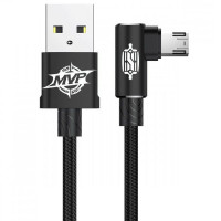 Дата кабель Baseus MVP Elbow Micro-USB Cable 2.4A (1m)