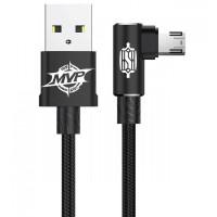 Дата кабель Baseus MVP Elbow Micro-USB Cable 2.4A (1m)