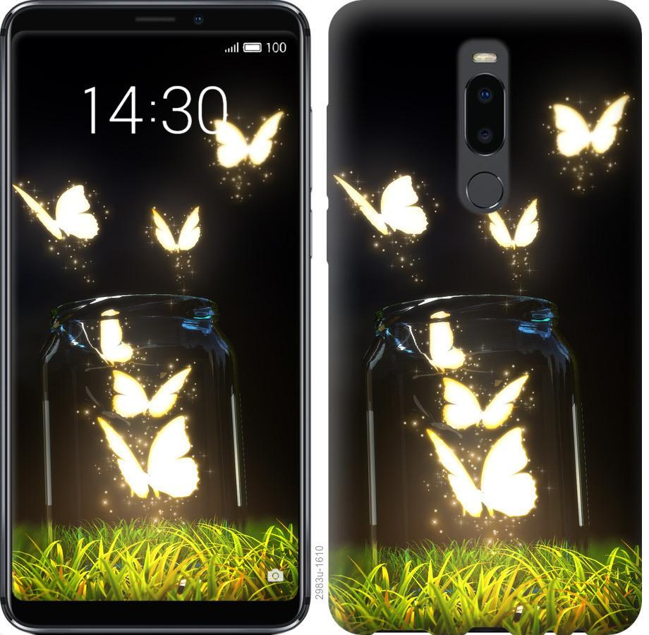 Чехол на Meizu Note 8 Бабочки