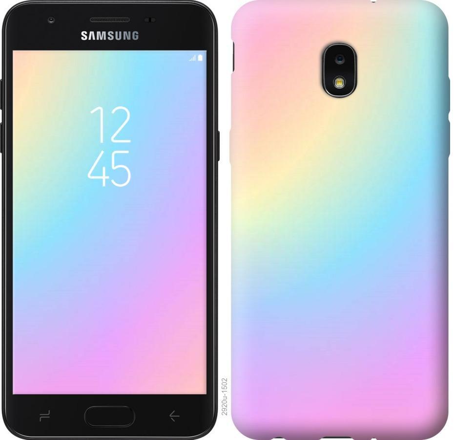 Чехол на Samsung Galaxy J7 2018 Радуга 2