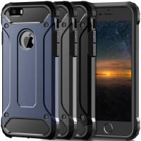 Броньований протиударний TPU+PC чохол Immortal для Apple iPhone 5/5S/SE