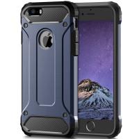 Бронированный противоударный TPU+PC чехол Immortal для Apple iPhone 5/5S/SE