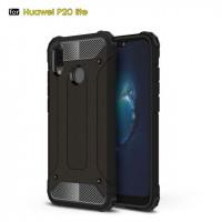 Бронированный противоударный TPU+PC чехол Immortal для Huawei P20 Lite