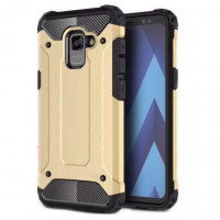 Броньований протиударний TPU+PC чохол Immortal для Samsung Galaxy A8 (2018) (A530)