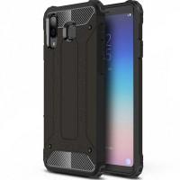 Бронированный противоударный TPU+PC чехол Immortal для Samsung Galaxy M20