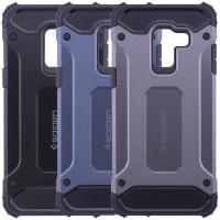 Броньований протиударний TPU+PC чохол SPIGEN (HC) для Samsung Galaxy A6 Plus (2018)