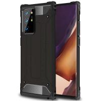 Бронированный противоударный TPU+PC чехол Immortal для Samsung Galaxy Note 20 Ultra