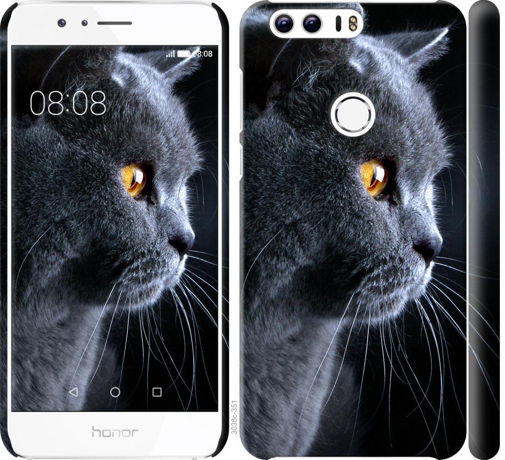 Чохол на Huawei Honor 8 Гарний кіт