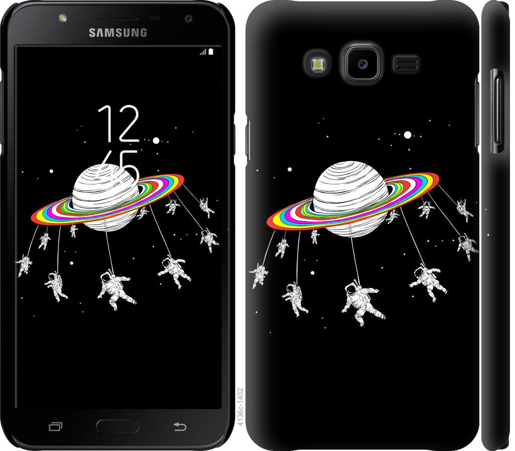 Чехол на Samsung Galaxy J7 Neo J701F Лунная карусель