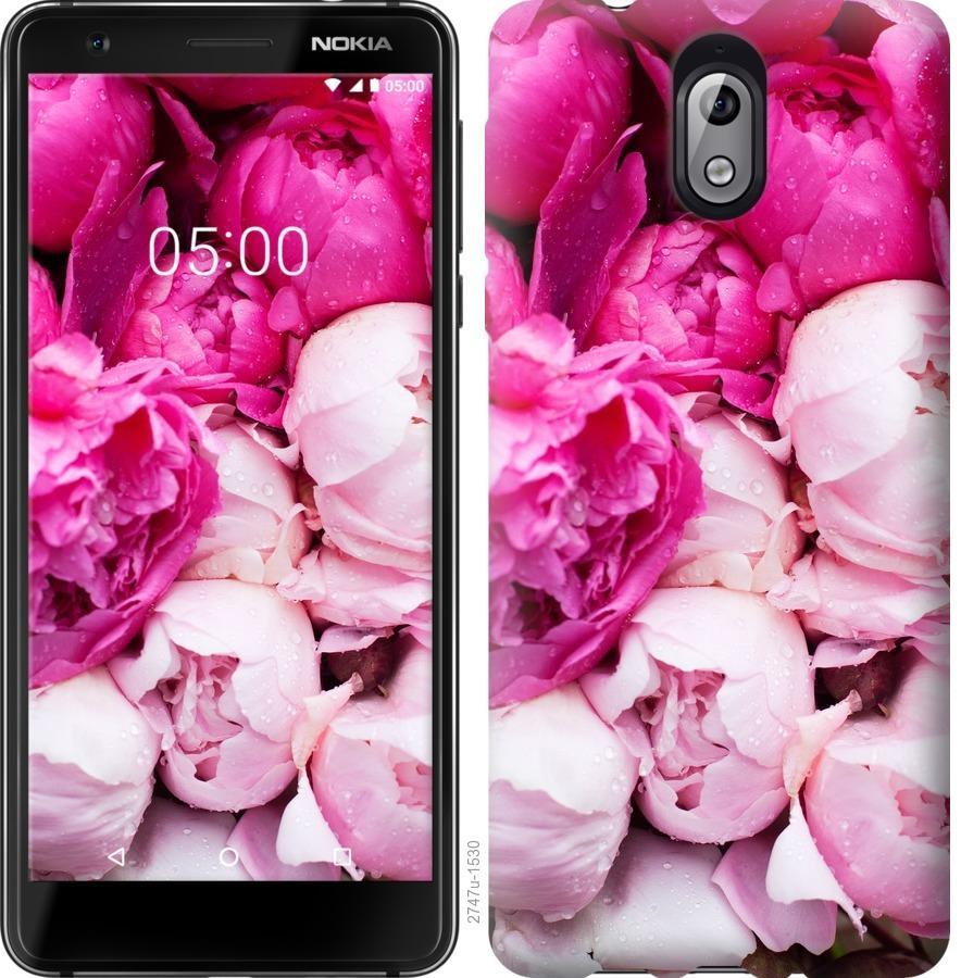 Чехол на Nokia 3.1 Розовые пионы