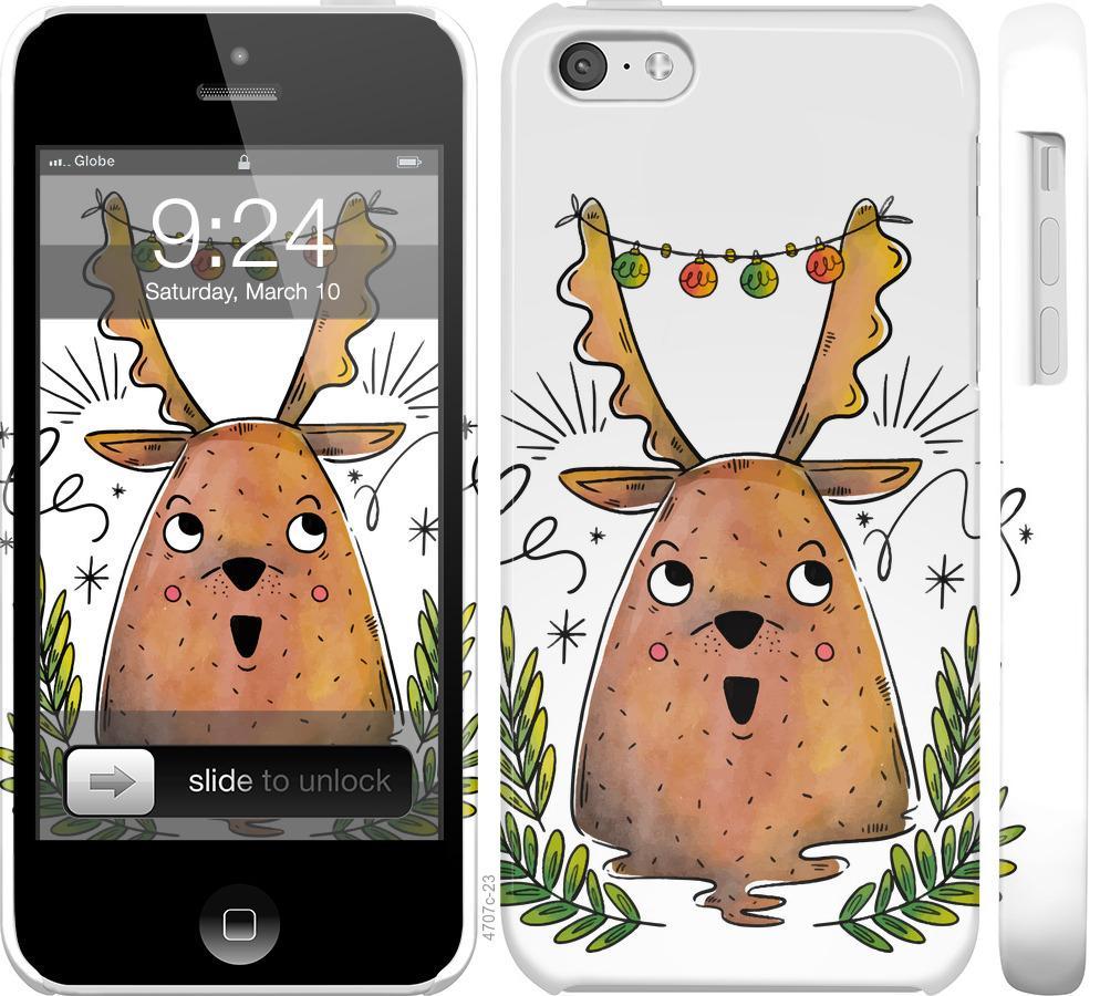 Чехол на iPhone 5c Милый олененок